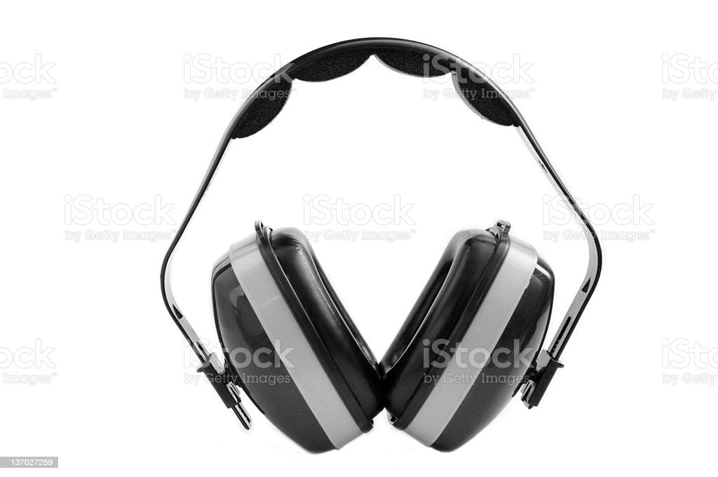 Earmuffs royalty-free stock photo