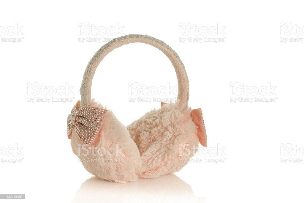 earmuffs stock photo
