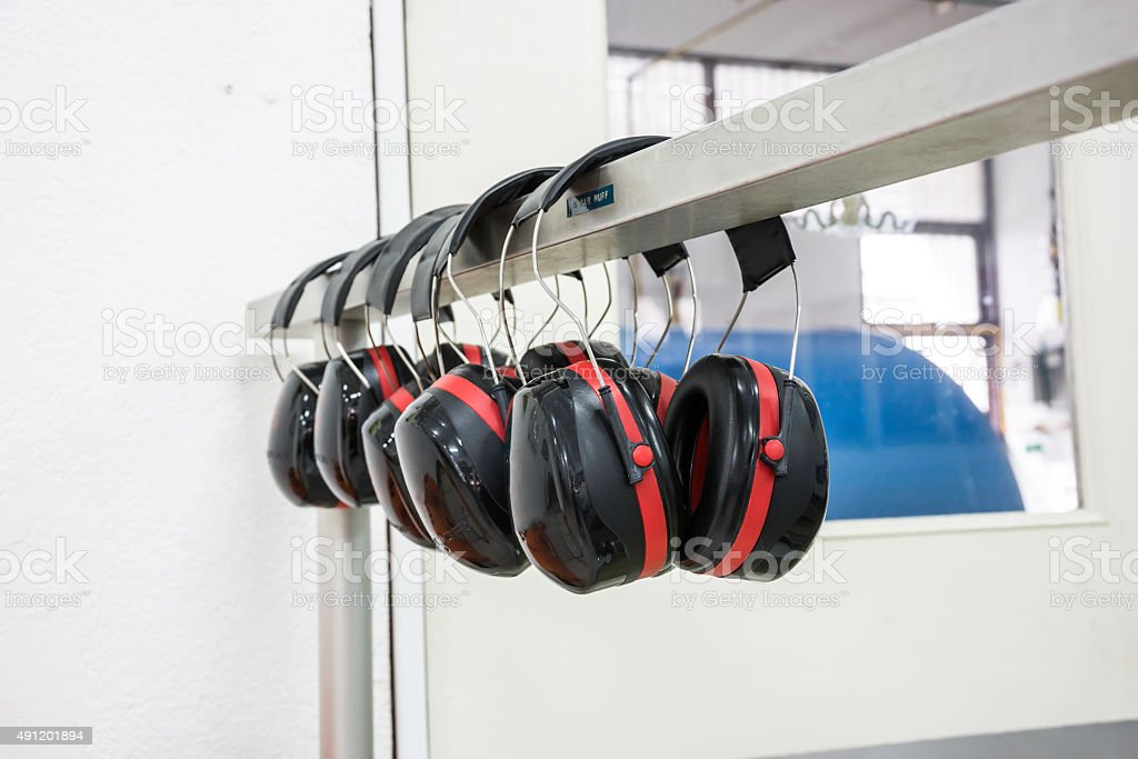 Ohrenschützer Lizenzfreies stock-foto