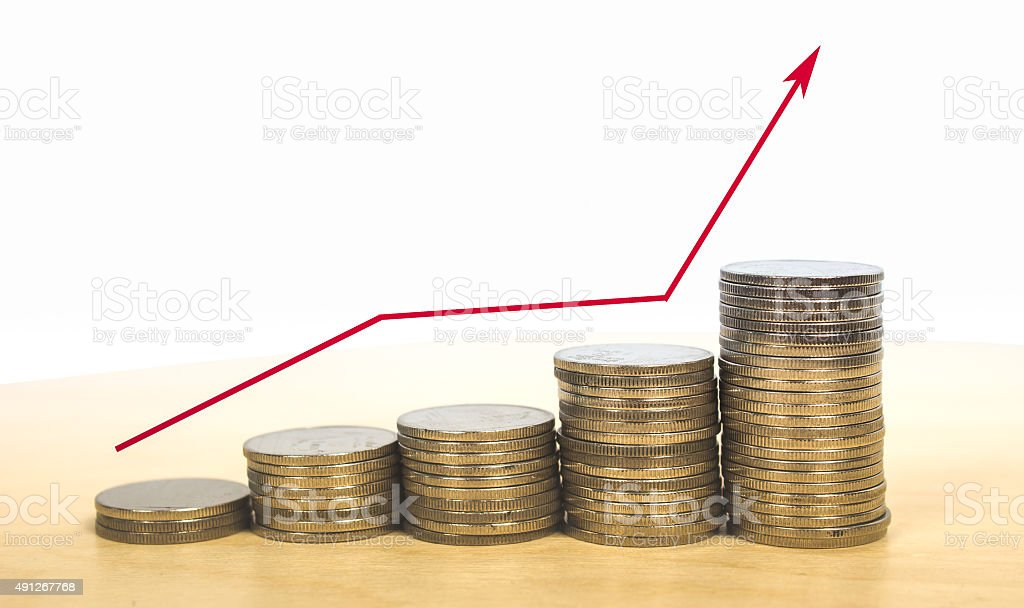 earn more money stock photo