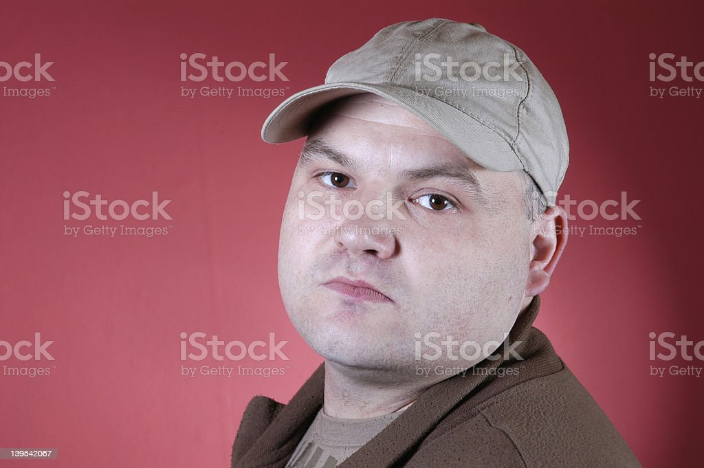 earnest royalty-free stock photo