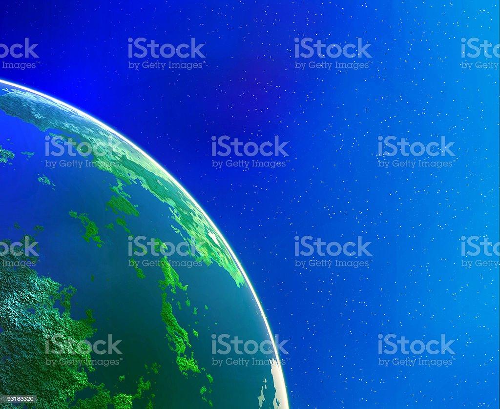 Earth Beauty royalty-free stock photo