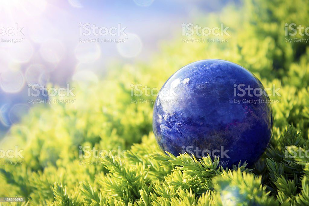 Earth -- blue marble royalty-free stock photo