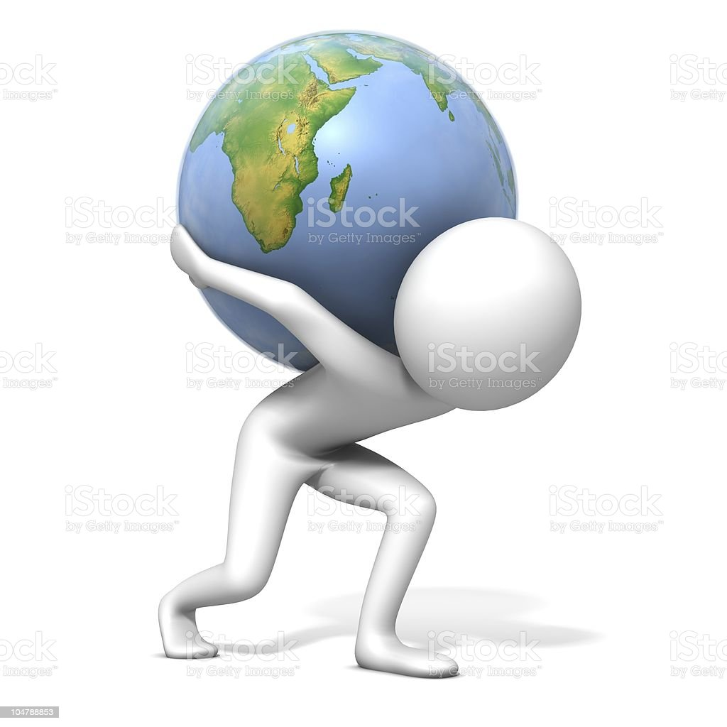 Earth Care royalty-free stock photo