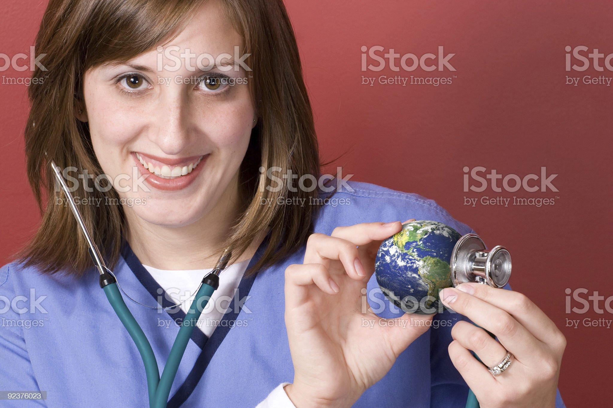 Earth Checkup royalty-free stock photo