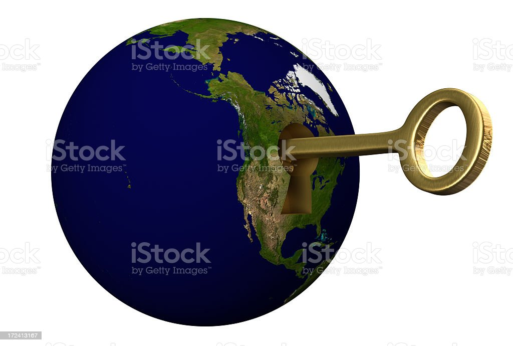 Earth Concepts royalty-free stock photo