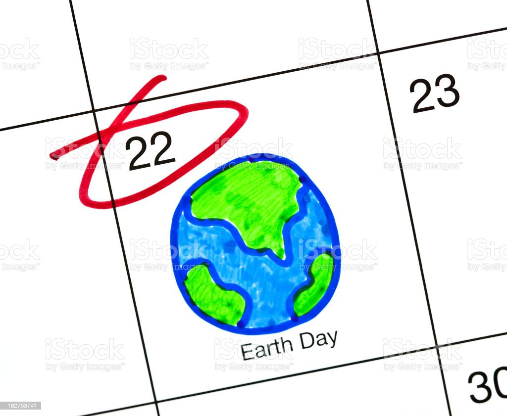 Earth Day 2010 stock photo