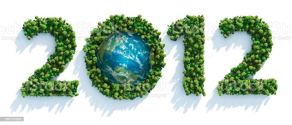 Earth Day 2012 royalty-free stock photo