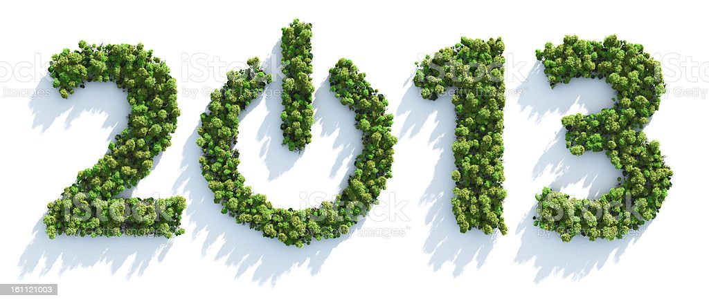 Earth Day 2013 royalty-free stock vector art