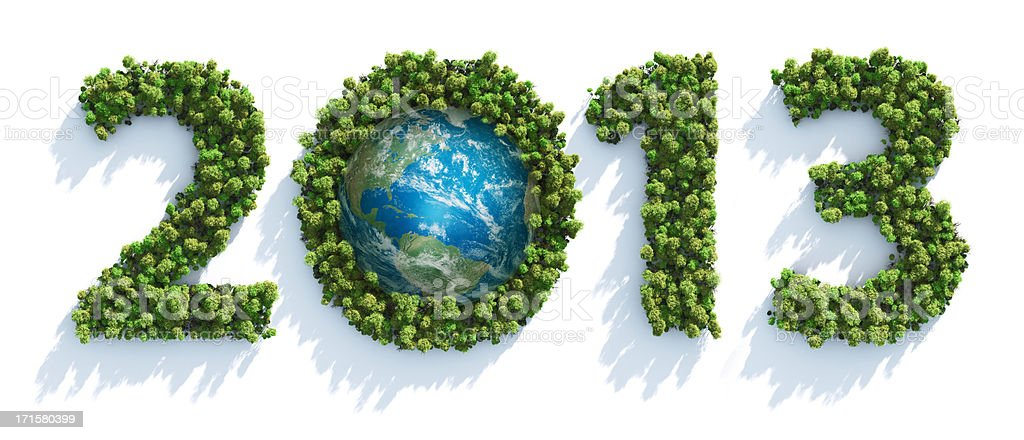 Earth Day 2013 royalty-free stock photo