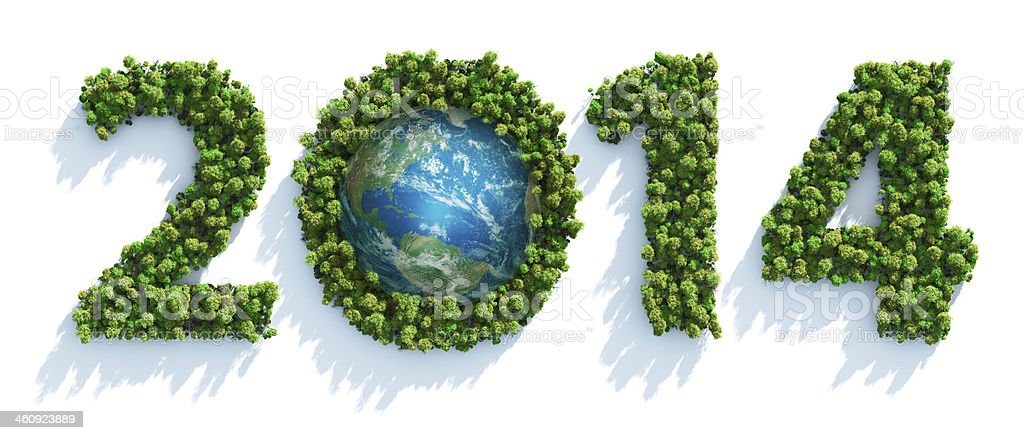Earth Day 2014 royalty-free stock photo