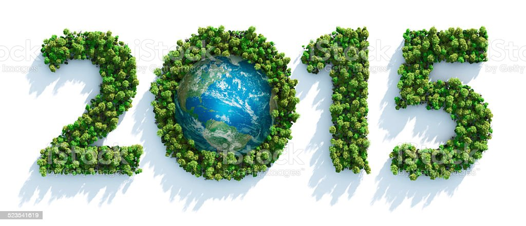 Earth Day 2015 stock photo