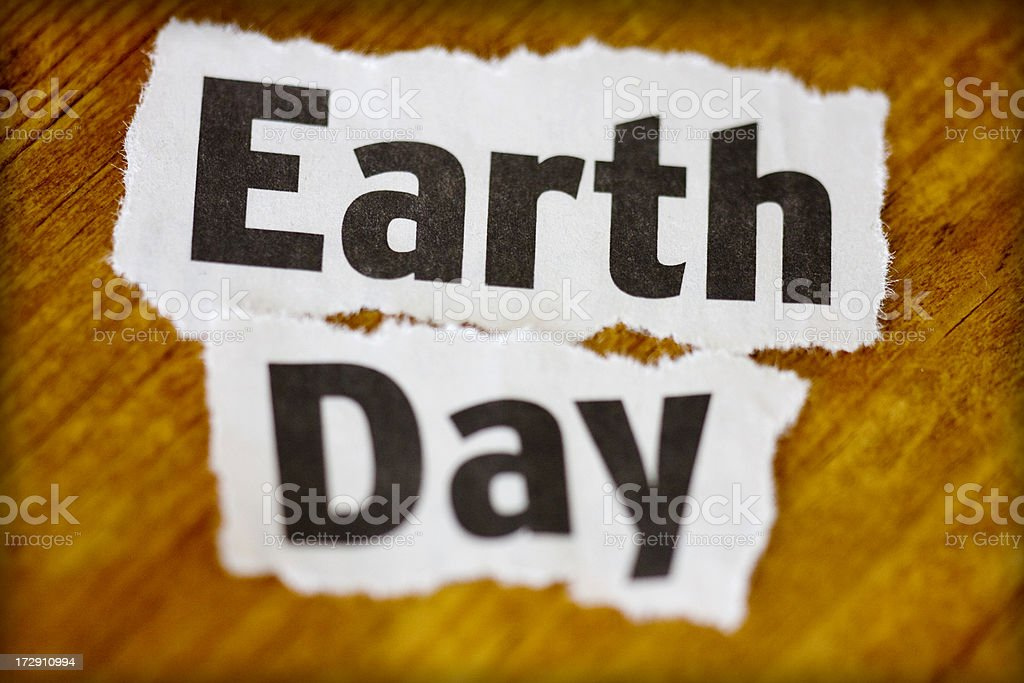 earth day royalty-free stock photo
