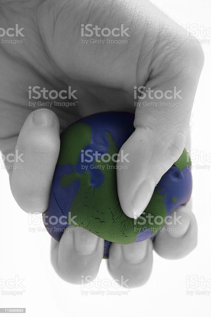 Earth day / pollution series (V) stock photo