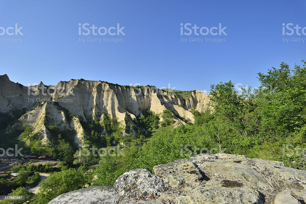 Earth formations royalty-free stock photo