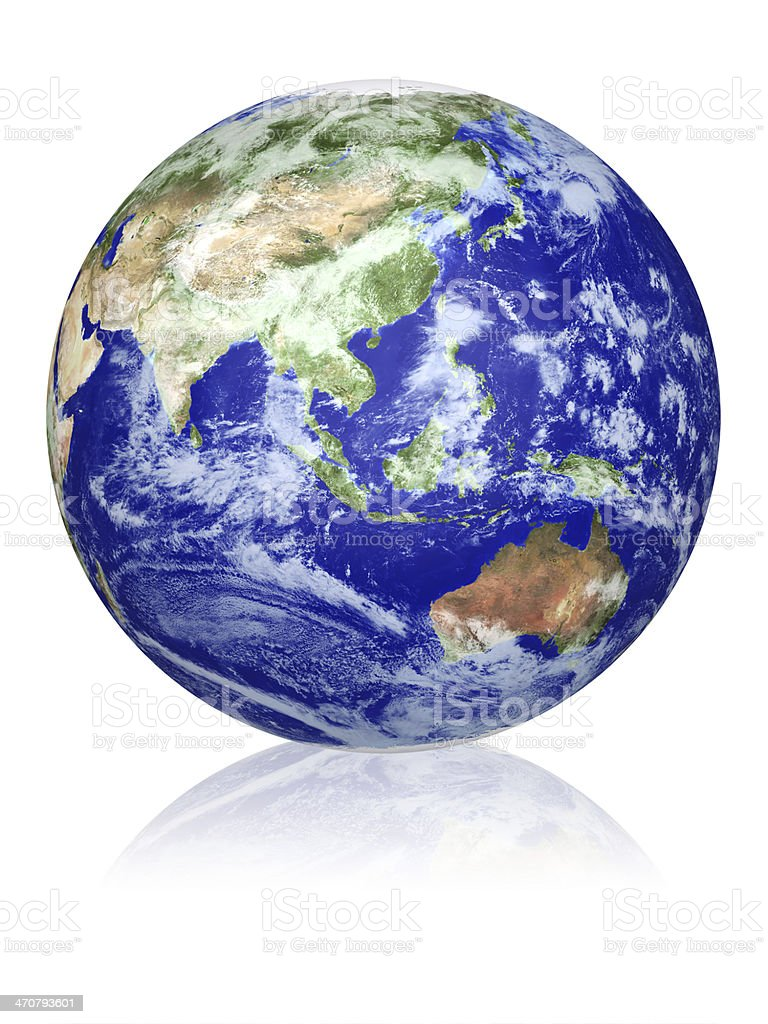 Earth globe royalty-free stock photo