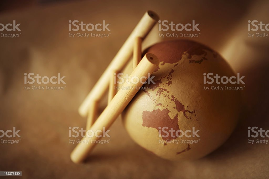 Earth Growth royalty-free stock photo
