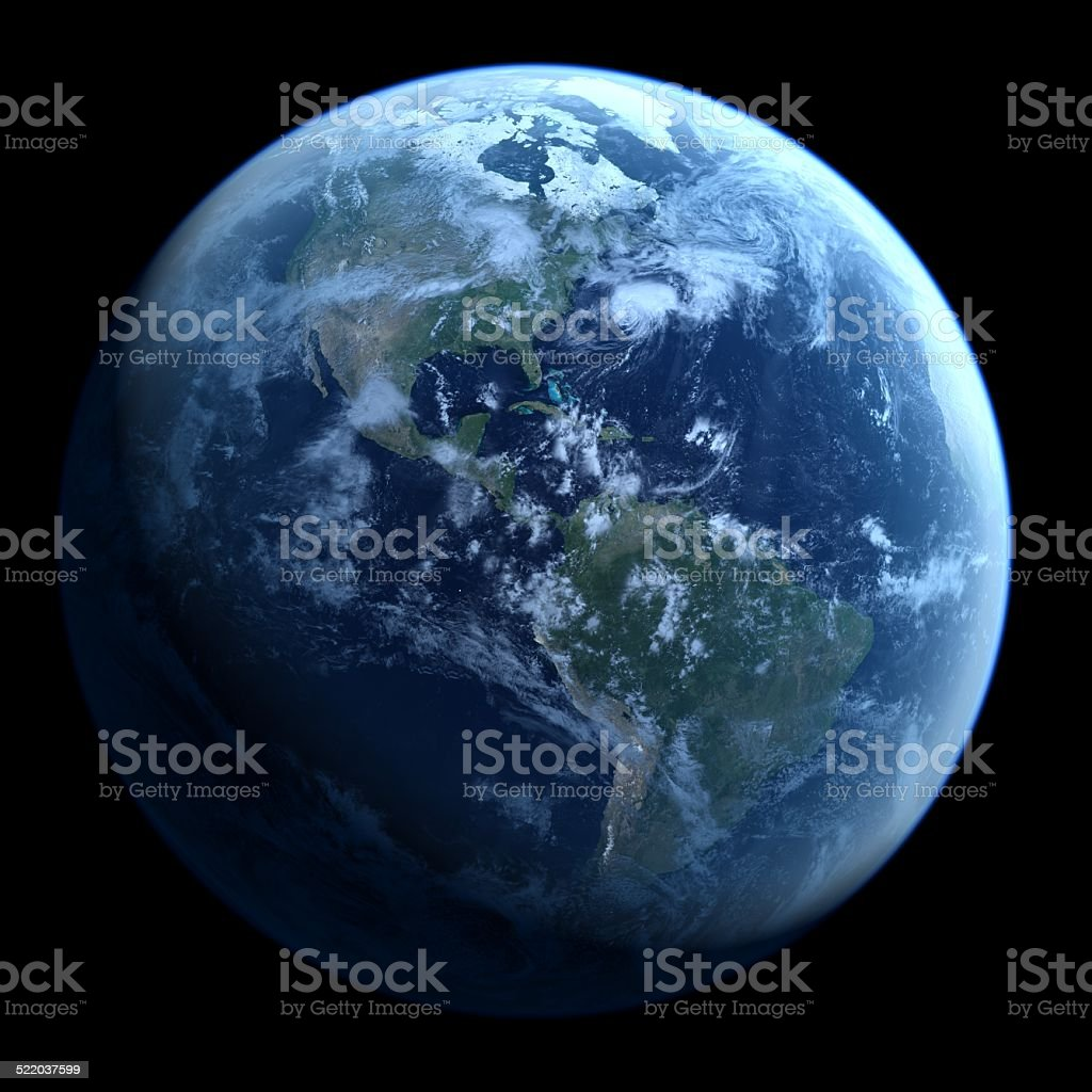 Earth image stock photo