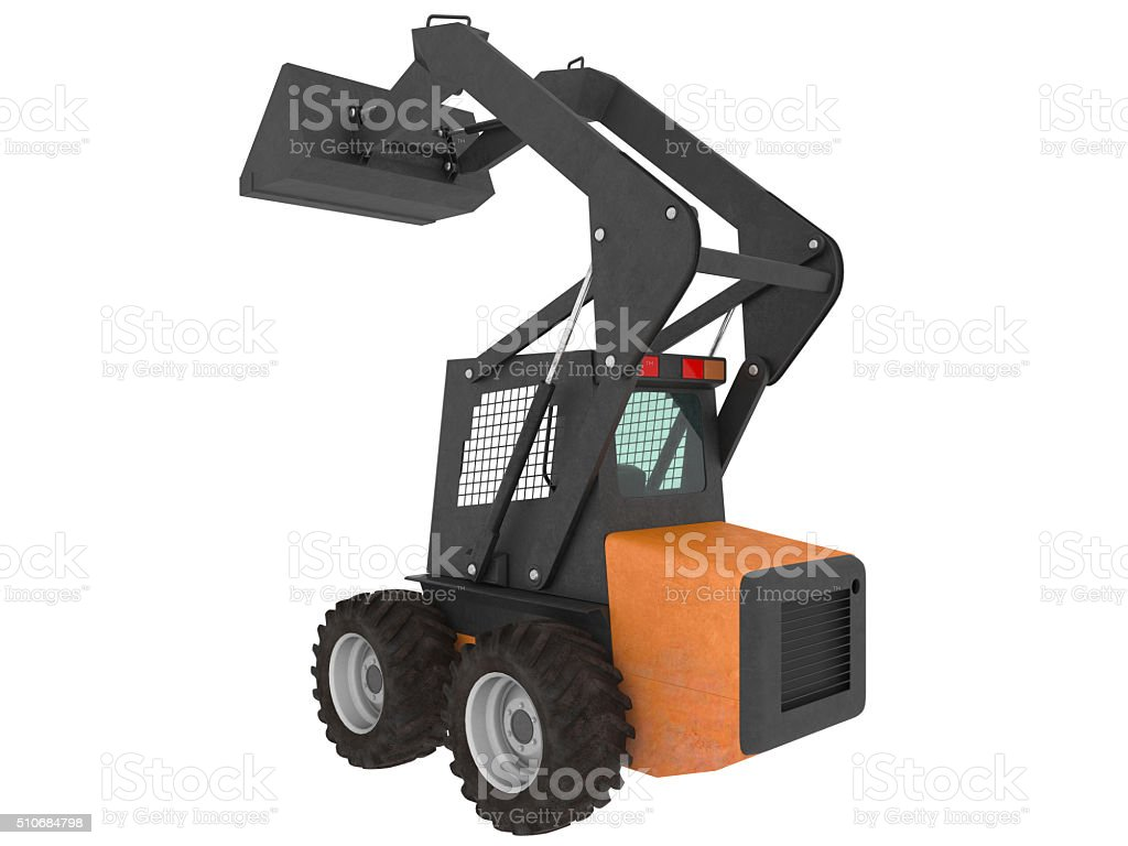 Earth Loader royalty-free stock photo