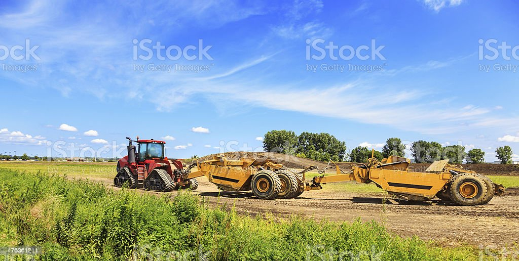 Earth Mover Equipment royalty-free stock photo