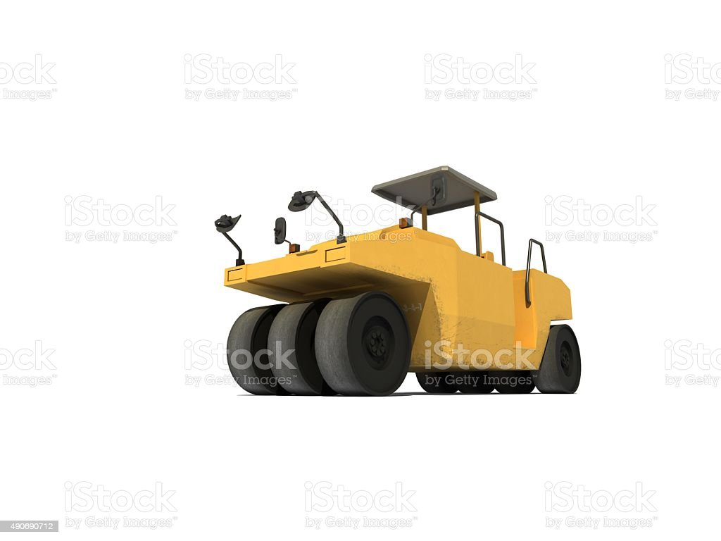 Earth Mover stock photo