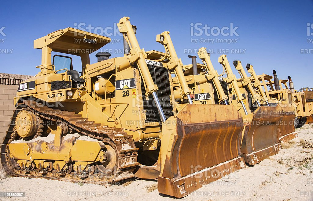 Earth Moving Equipment royalty-free stock photo