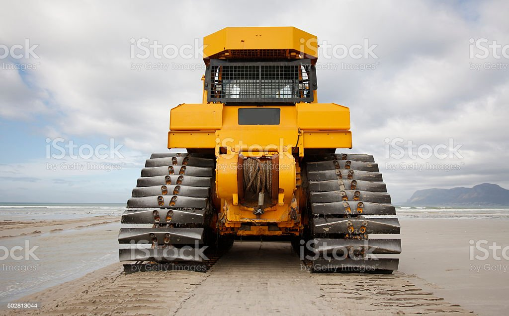Earth moving stock photo