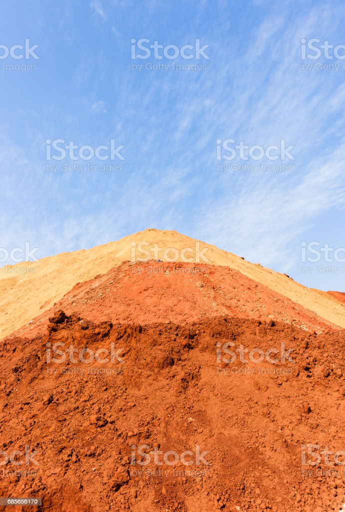 Earth Sand Blending Colors stock photo
