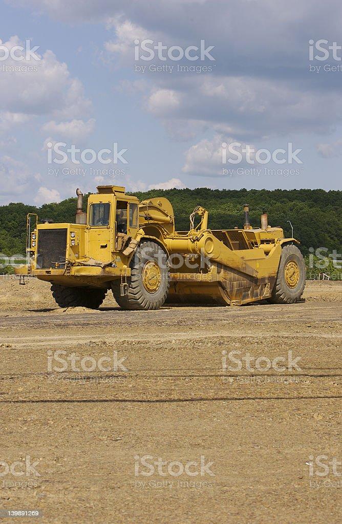 Earth Scraper royalty-free stock photo