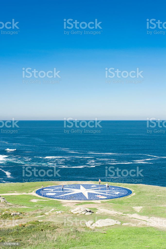Earth, sea and sky stock photo