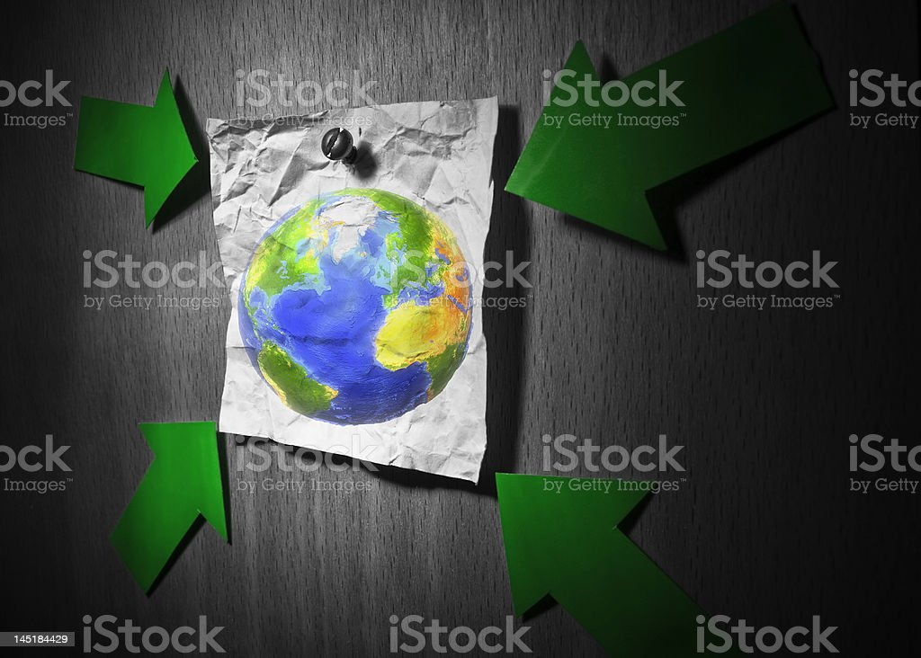 Earth topic stock photo