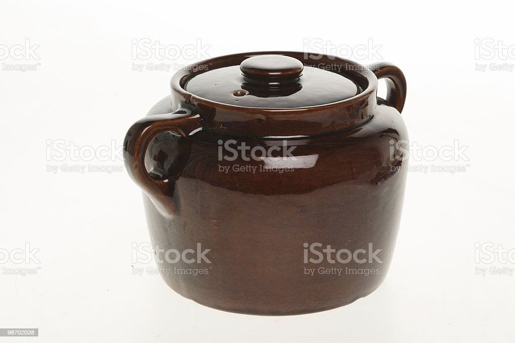 earthenware jug royalty-free stock photo