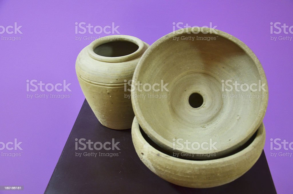 Earthenware Thai Style royalty-free stock photo