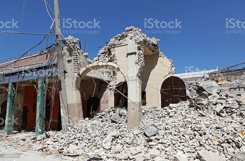 Earthquake stock photo