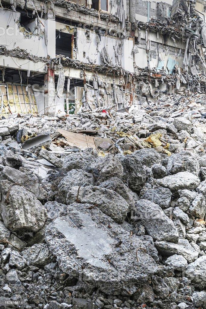 Earthquake - XLarge royalty-free stock photo