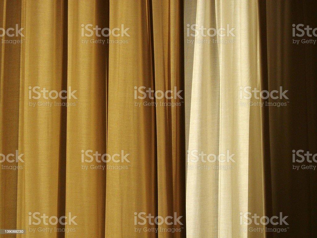 earthtone curtain royalty-free stock photo
