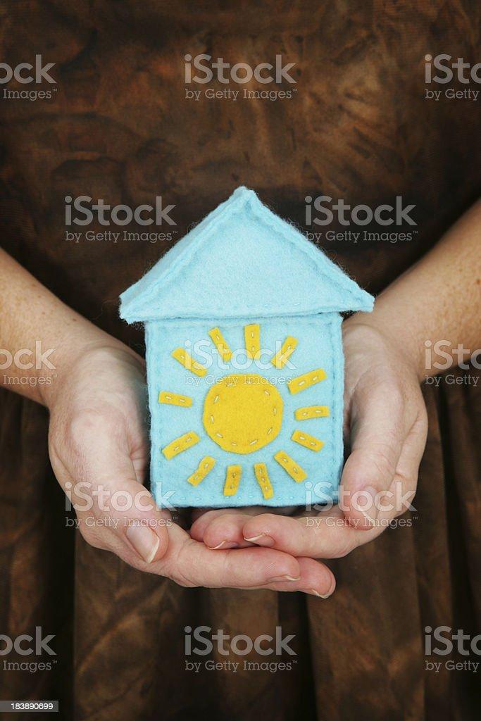 Earthy Solar Power royalty-free stock photo