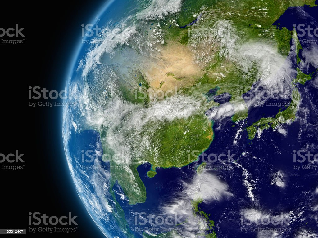 East Asia stock photo