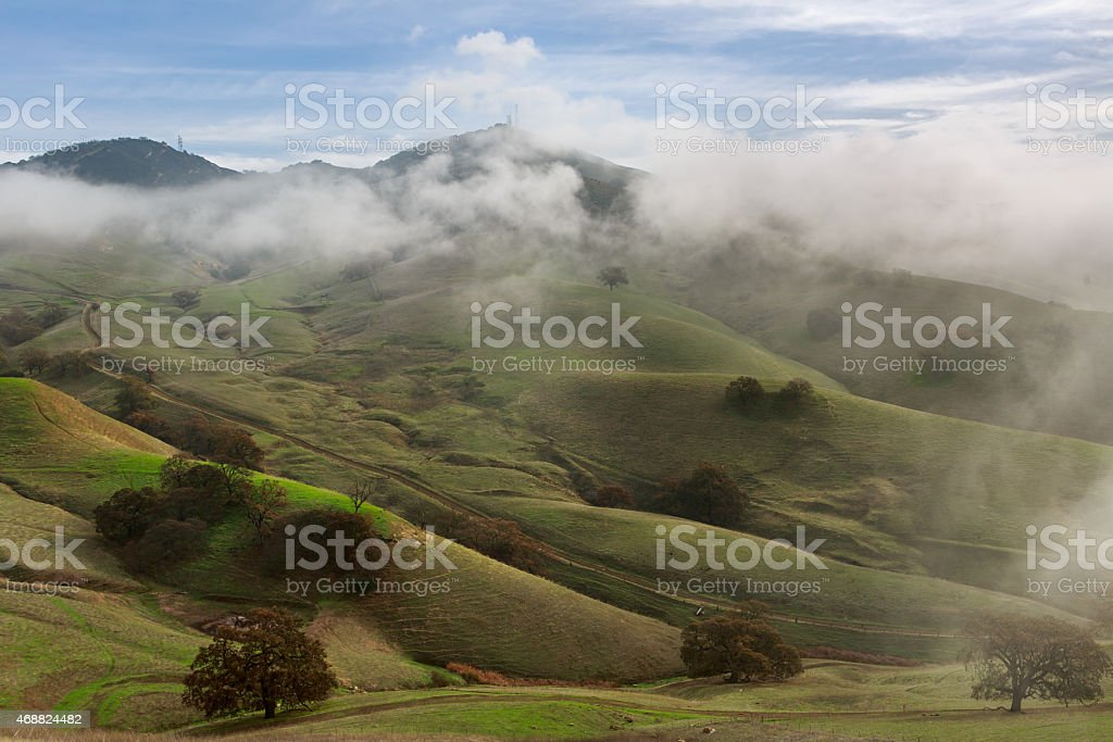 East Bay Hills stock photo