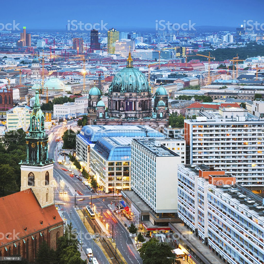 East Berlin, Germany royalty-free stock photo