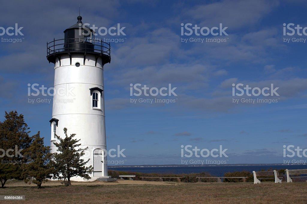East Chop Lighthouse, Martha's Vineyard stock photo