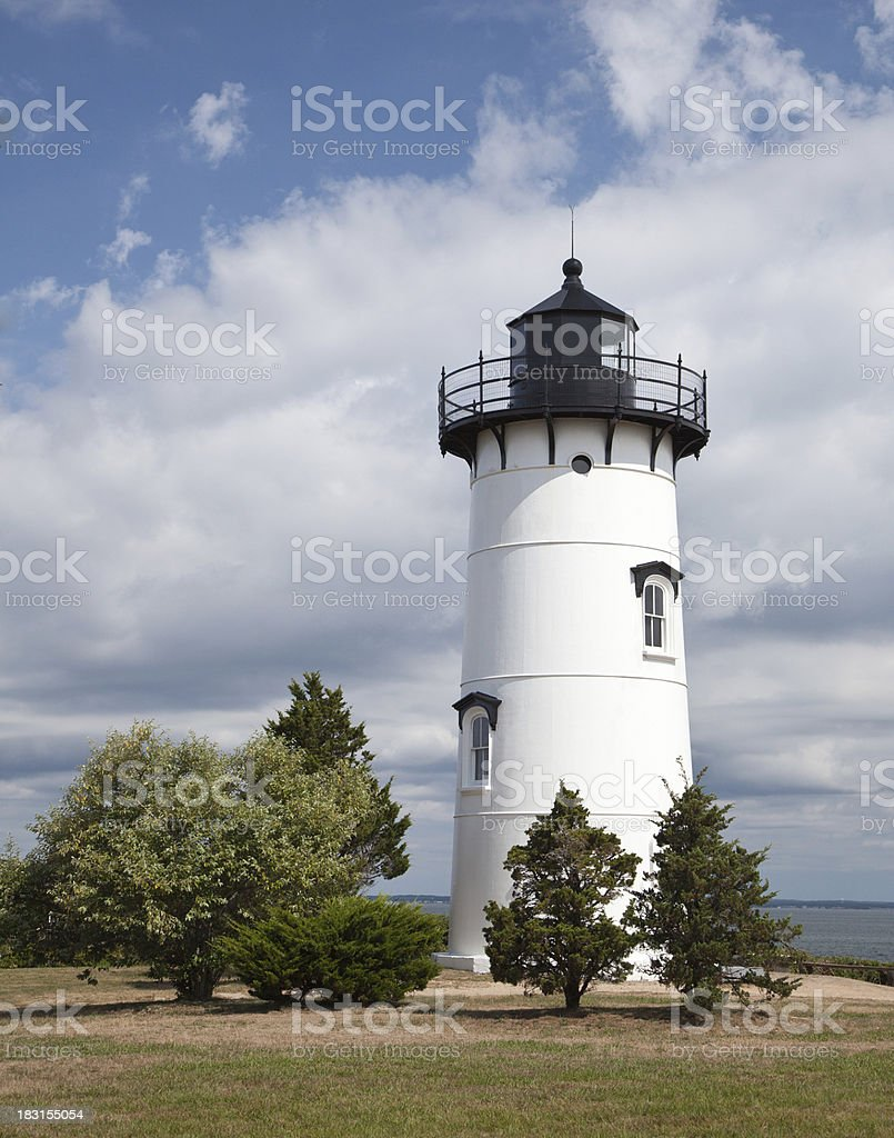 East Chop Lighthouse stock photo