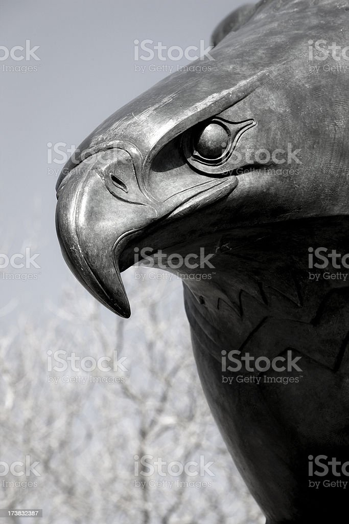 East Coast Memorial Statue in Battery Park, New York royalty-free stock photo