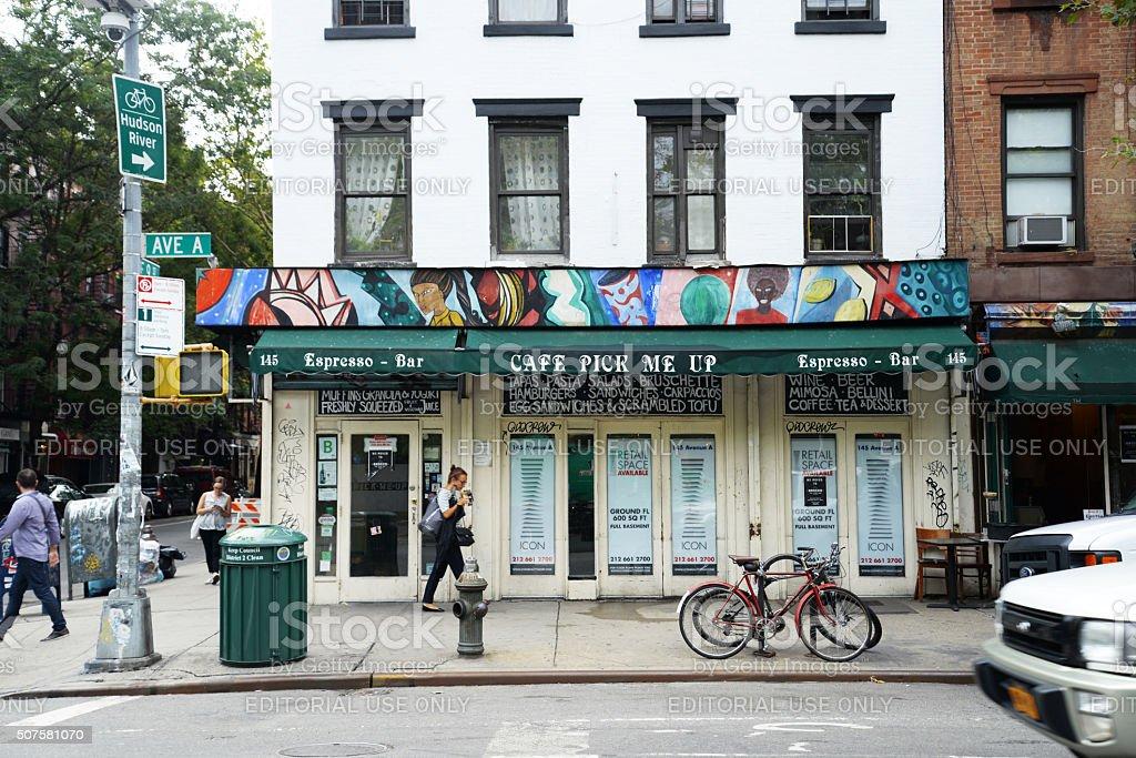 East Corner stock photo