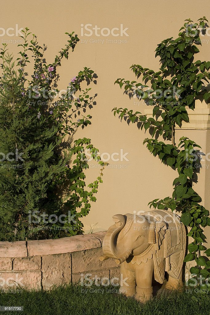 East elephant statue royalty-free stock photo