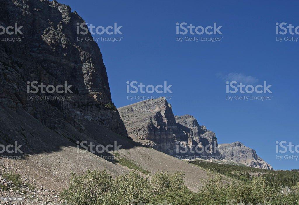 East Glacier Edge stock photo