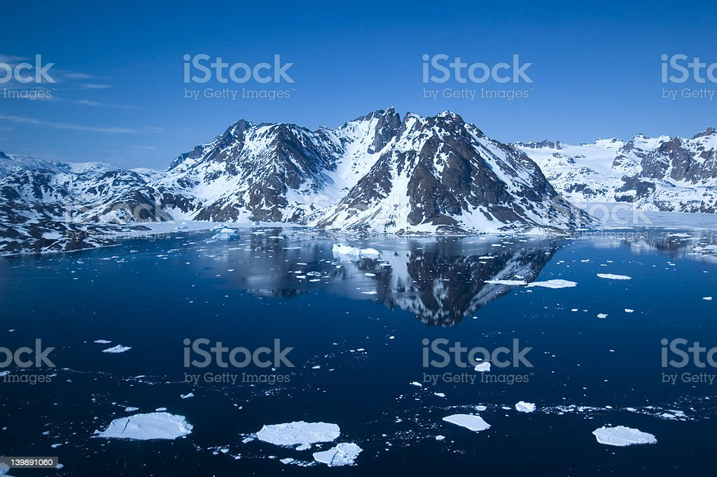 East Greenland royalty-free stock photo