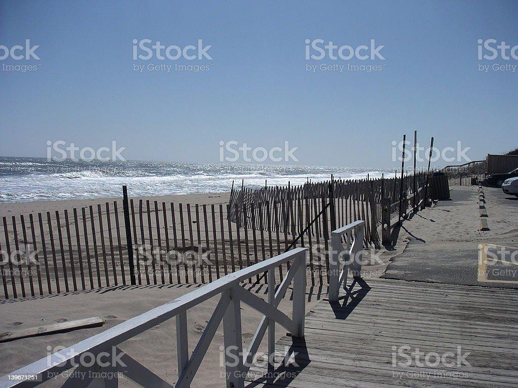 East Hampton Coast stock photo