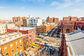 East Harlem from above