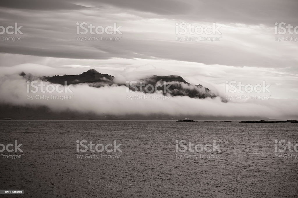 East Iceland Nature Landscape royalty-free stock photo